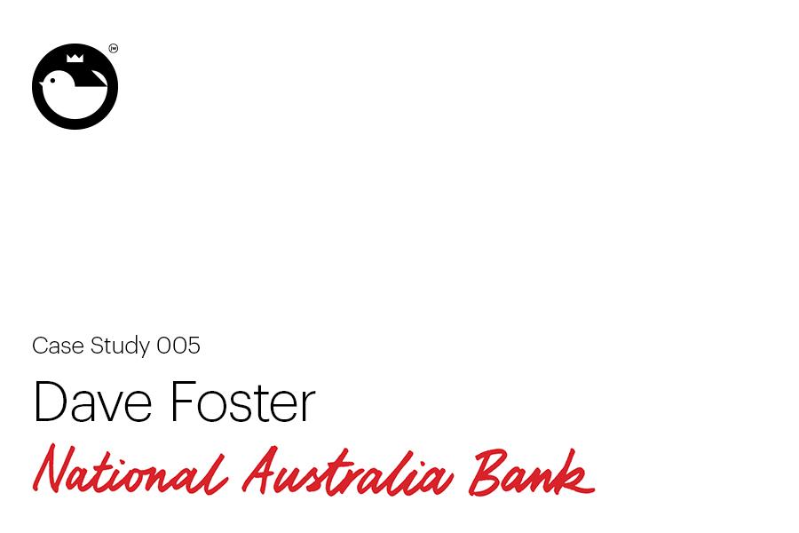 Dave Foster for National Australia Bank on Behance