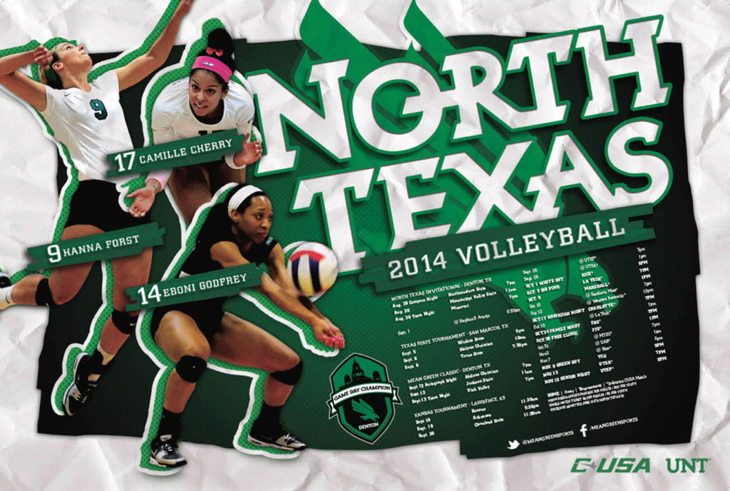 College Athletics Posters on Behance