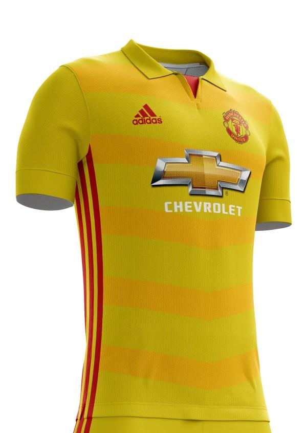 Manchester United Football Kit 16 17. Behance