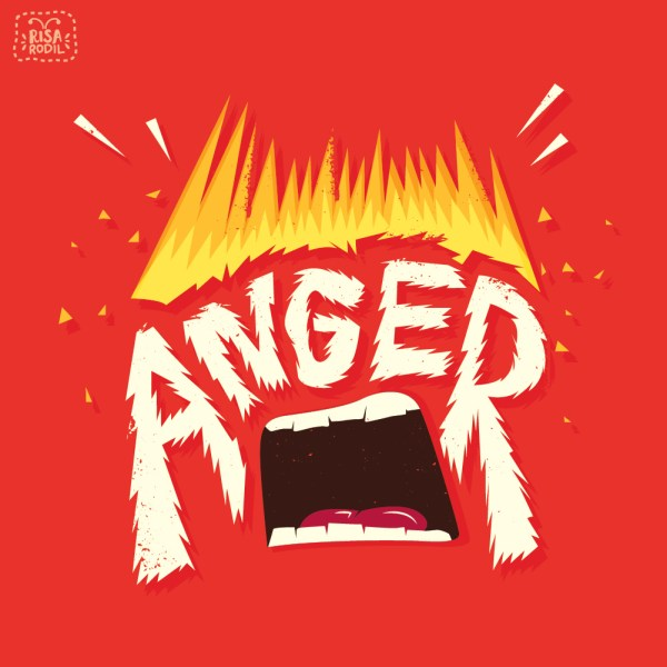 Anger Word From the Inside Out