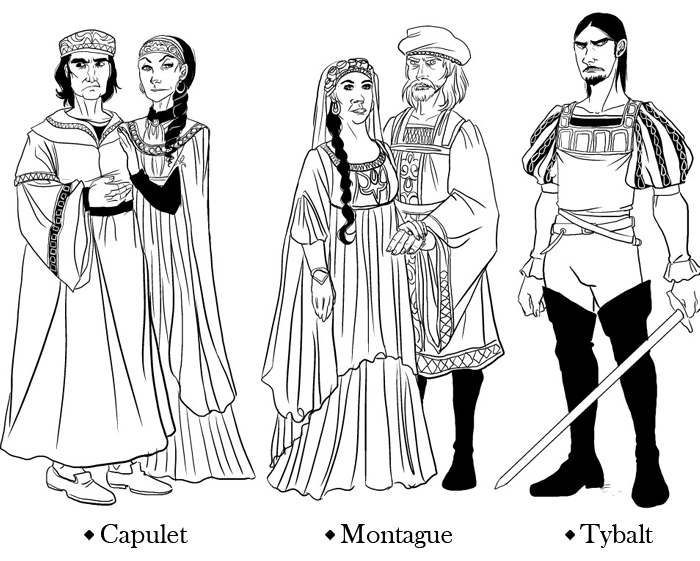 😊 The capulet family. Why Were the Capulets and Montagues