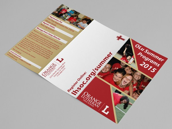 Orange Lutheran High School Summer Program Brochures