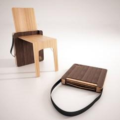 Folding Chairs In Bags Safari High Chair Bag On Pantone Canvas Gallery