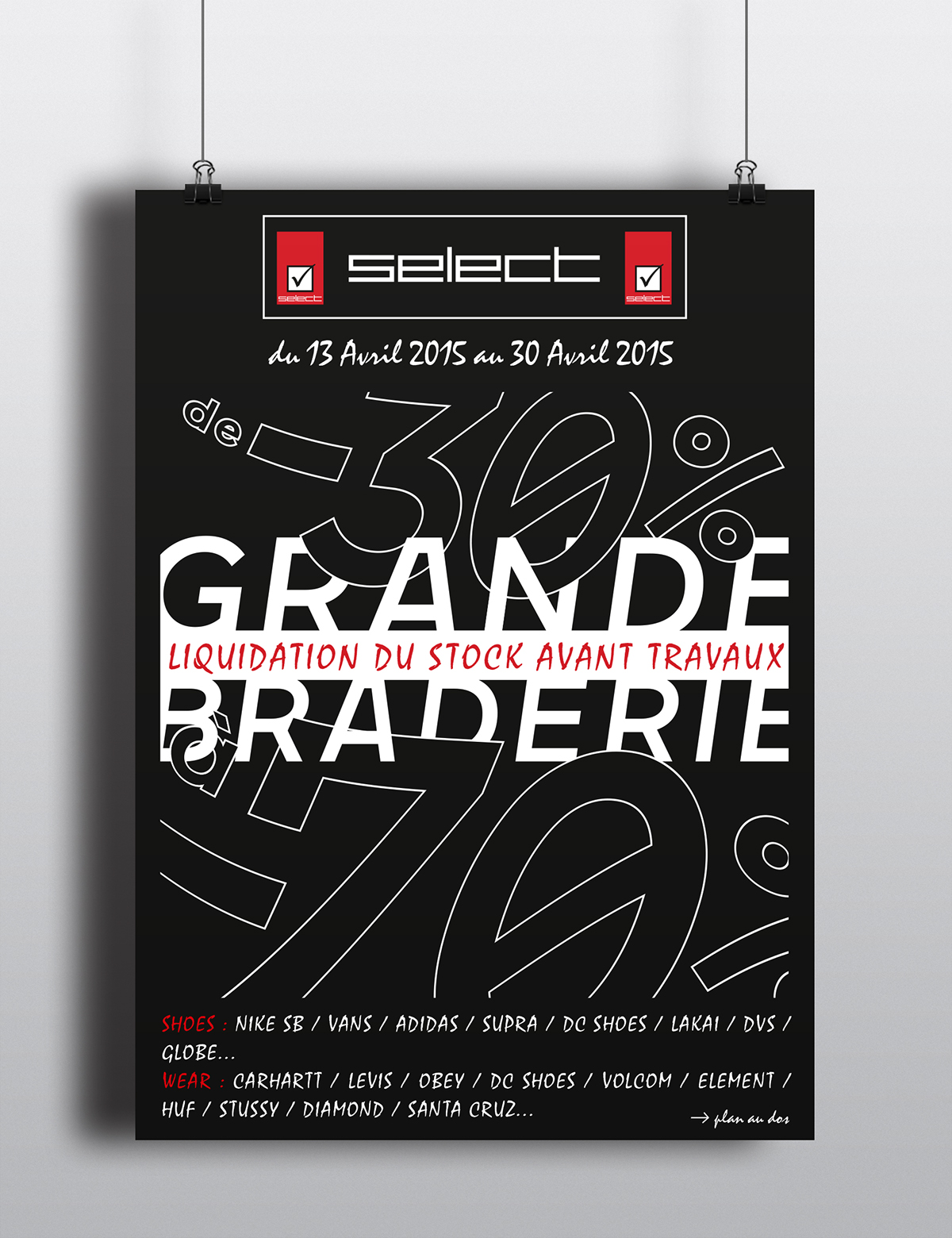 Liquidation World Flyer Select Store Braderie On Behance