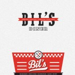 Bil S Diner Branding Opening 2014 On Behance