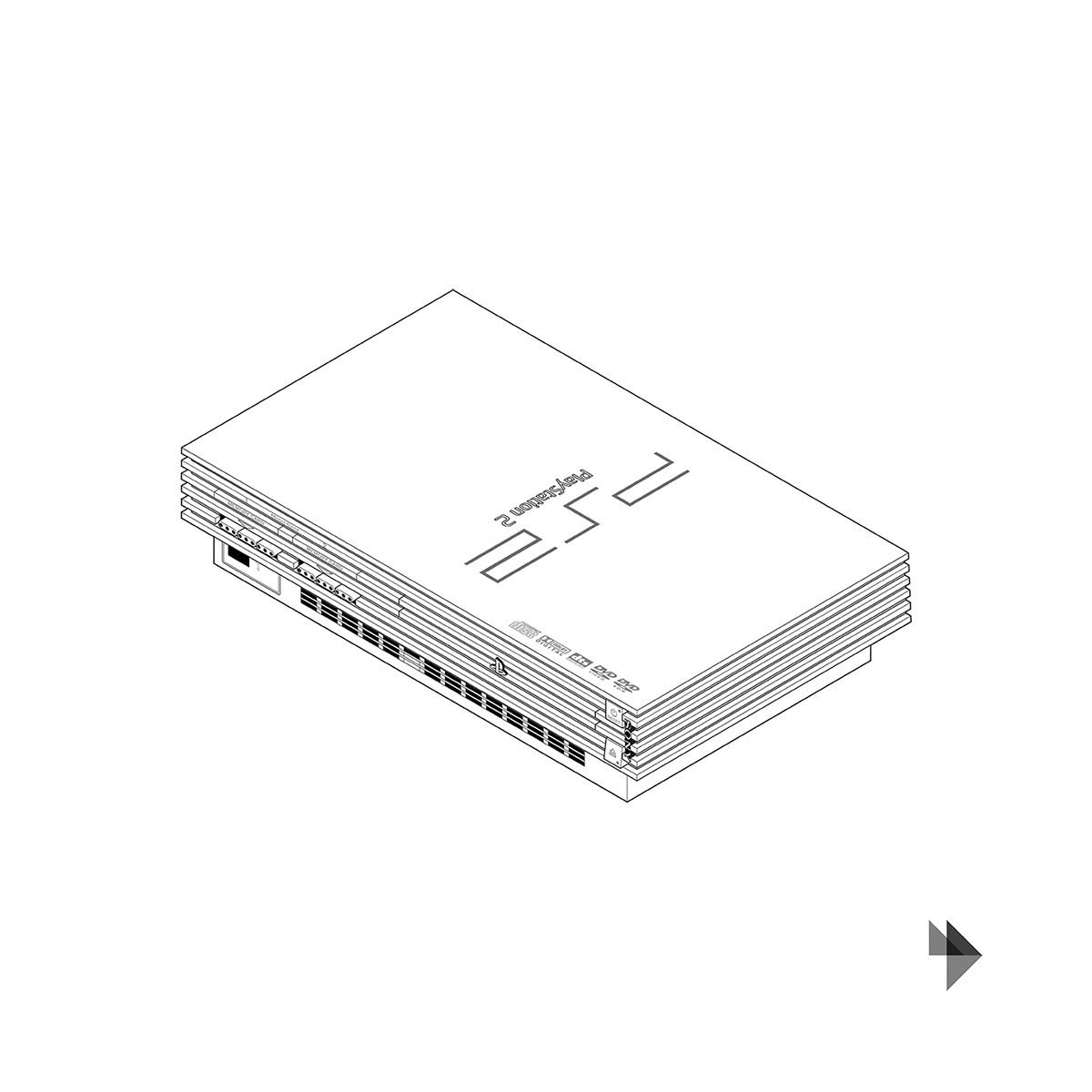 Evolution of the Sony PlayStation on Behance