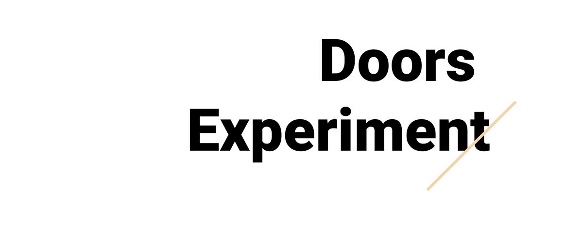 Doors Experiment on Wacom Gallery