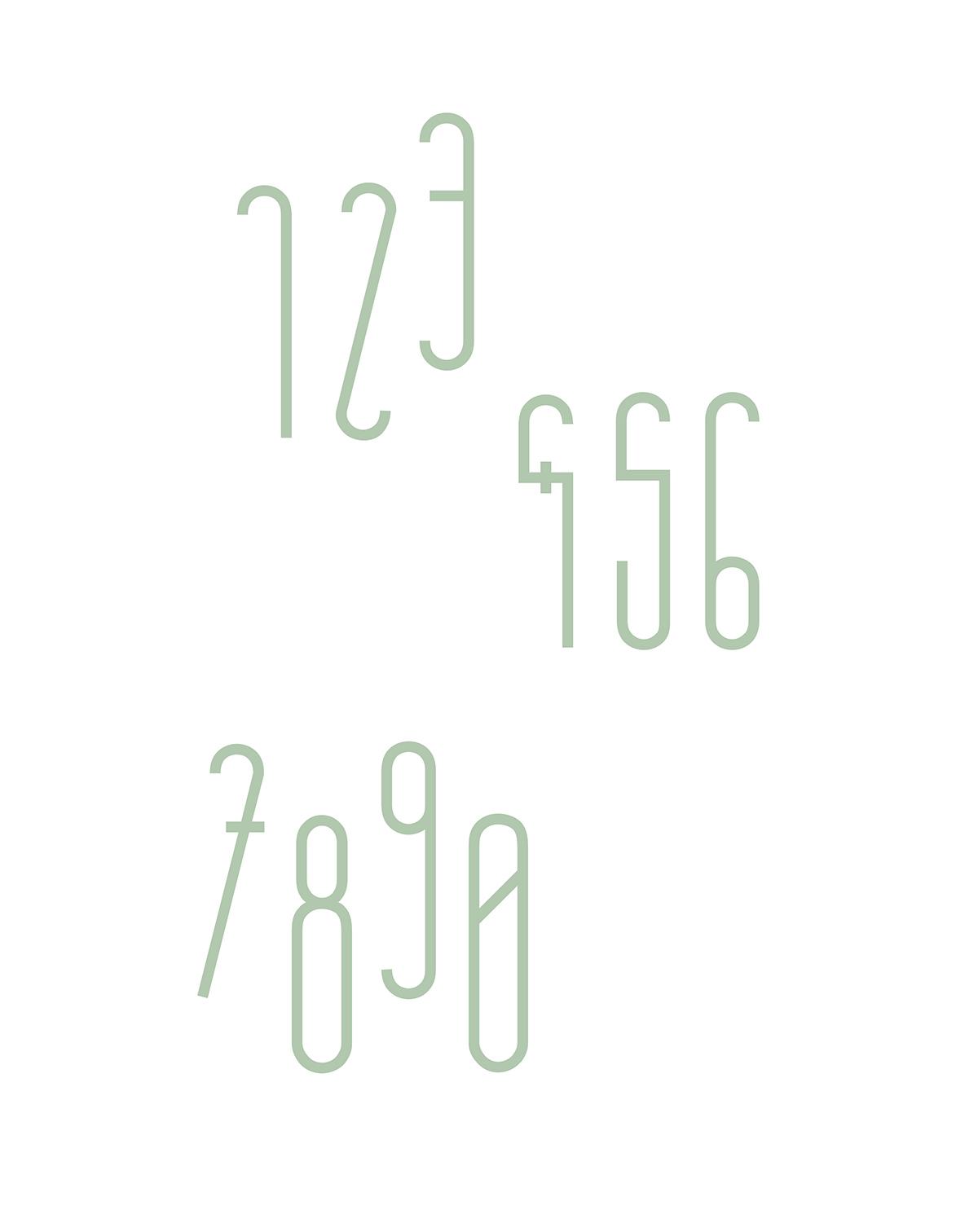 Florence Typeface on Behance