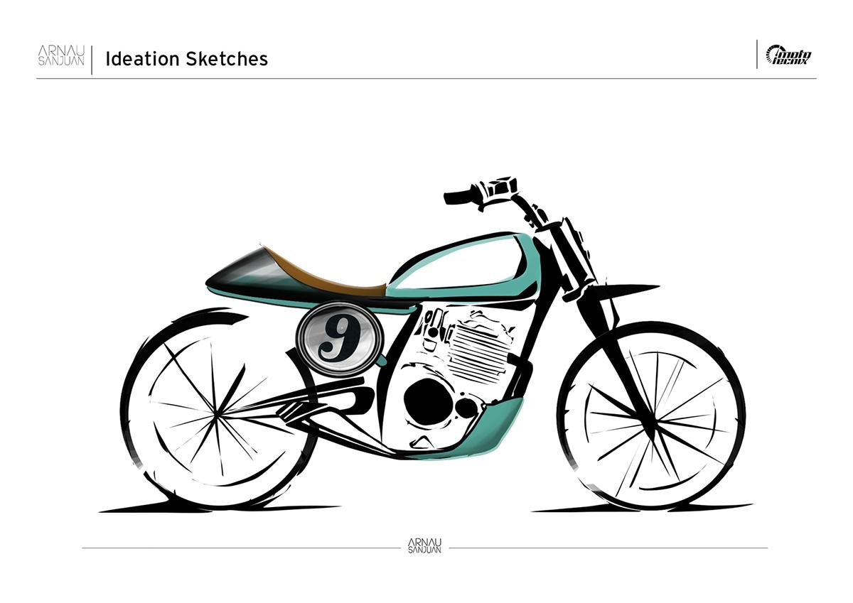 Honda XL 600 Project on Behance