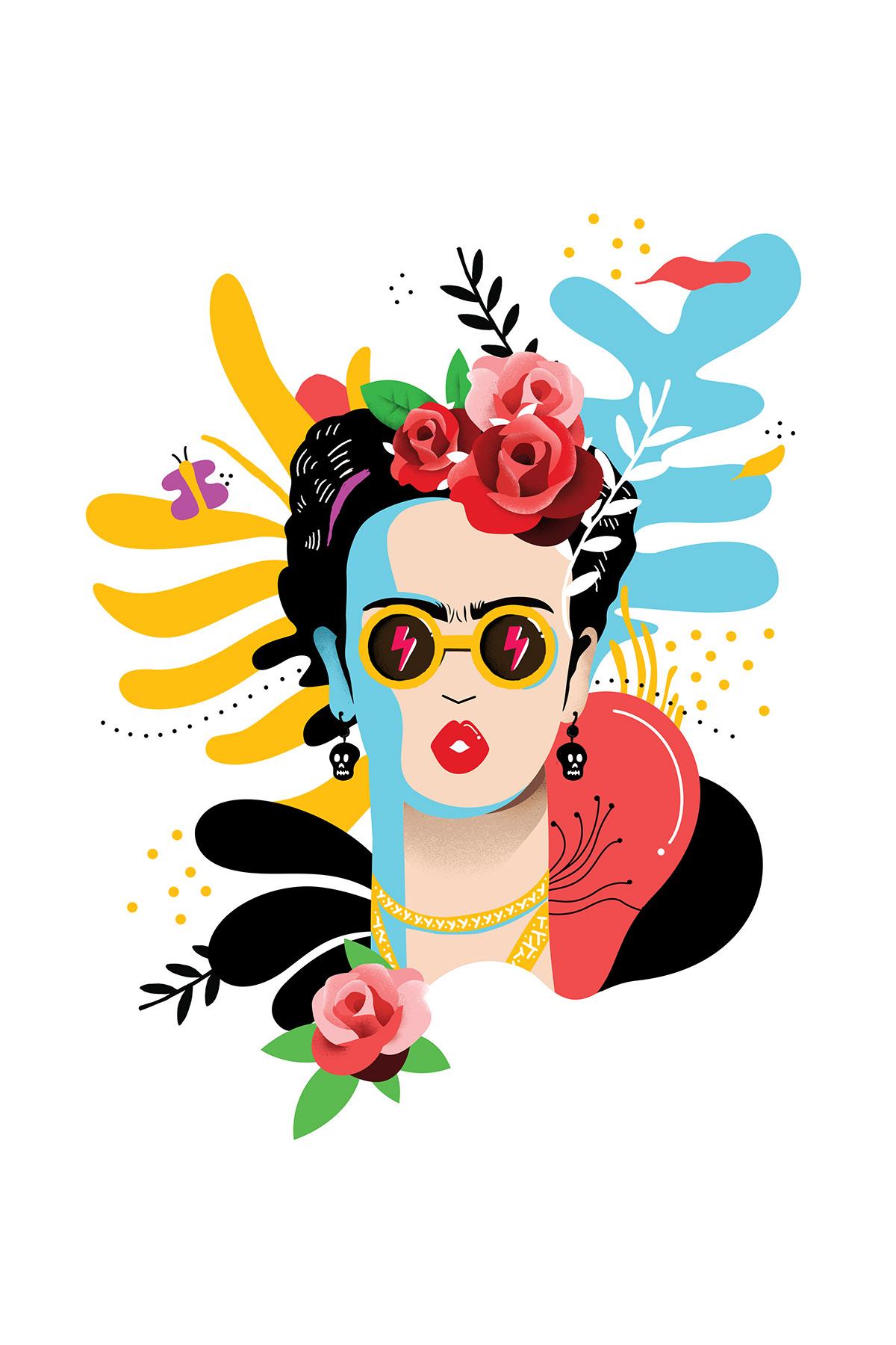 Frida Kahlo. Viva la vida. on Behance