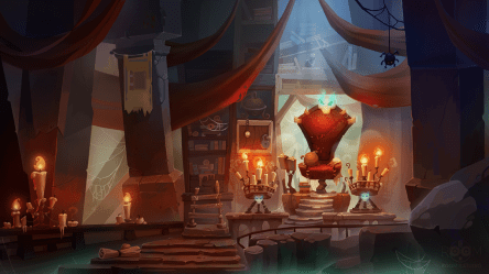 behance fantasy interior