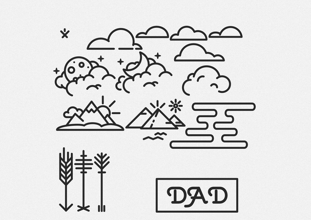 Minimal Tattoo For Dad On Behance