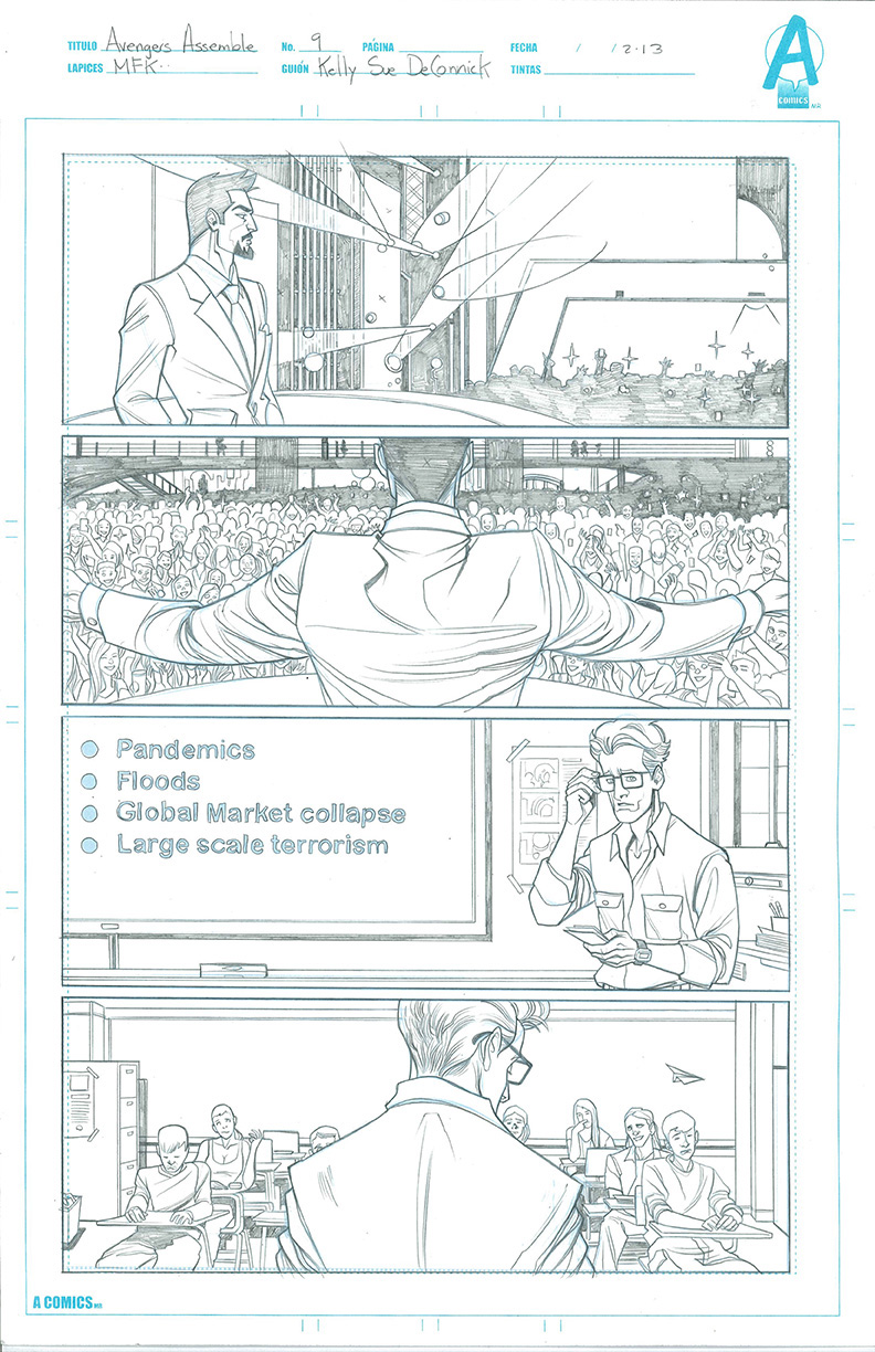 COMIC BOOK Sample Pages on Behance