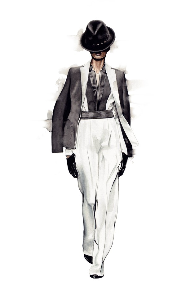Fashion Illustrations-miscellaneous Behance