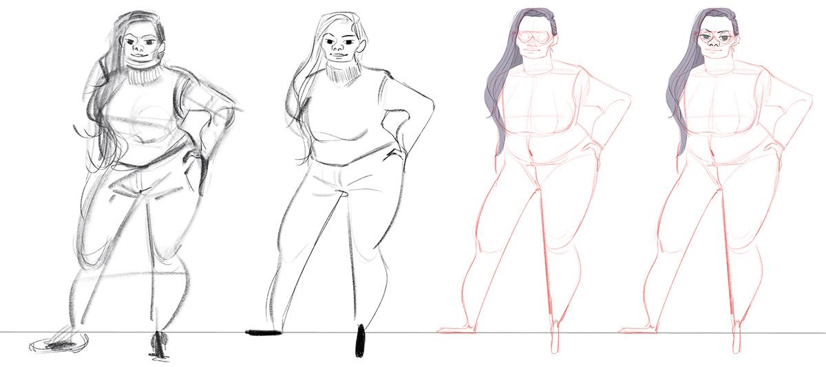 Character Deconstruction Study on SVA Portfolios