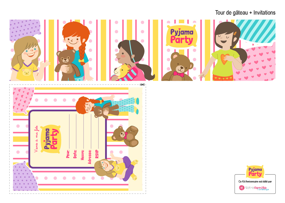 Baby Shower. Little Monsters and Pyjama Party kits on Behance