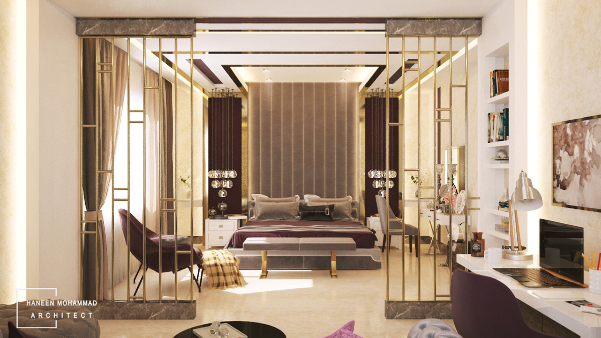 Luxury Master Bedroom On Student Show