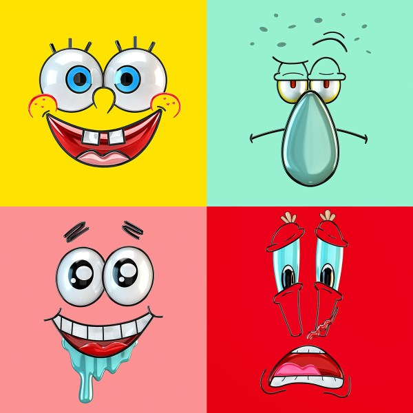 Spongebob Pop Art