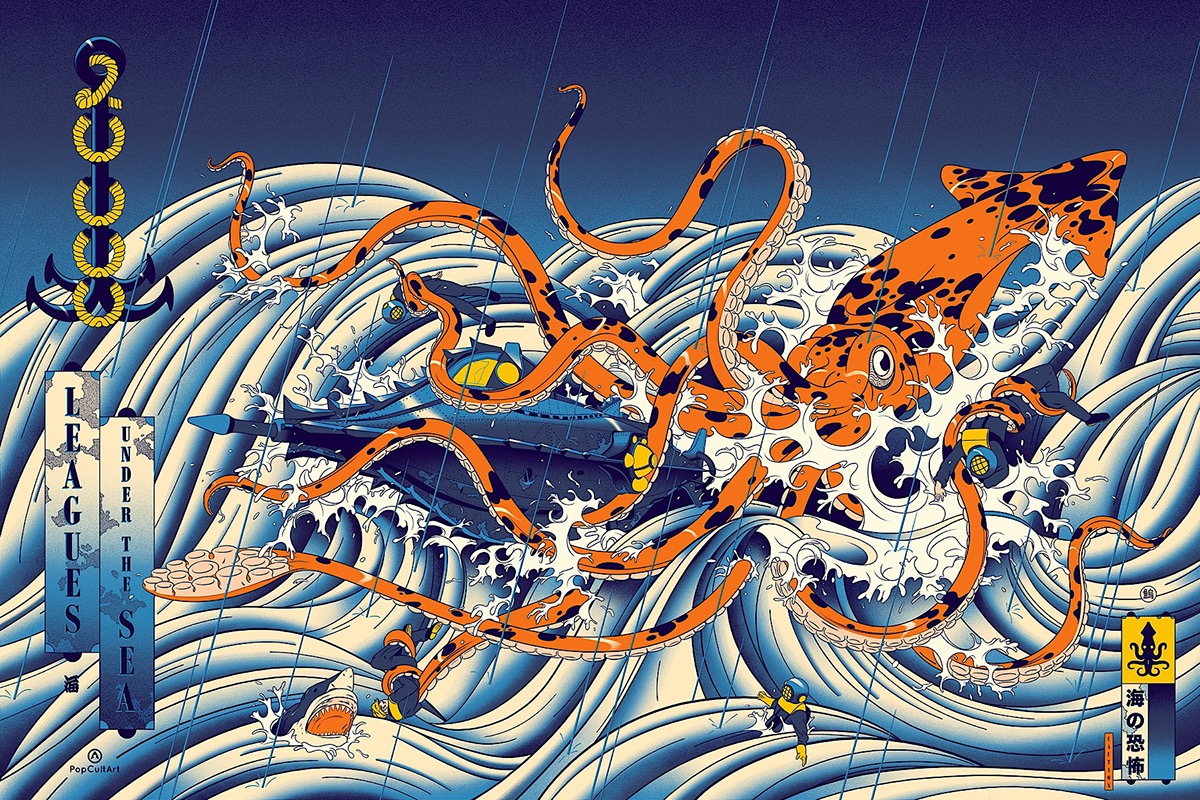 20 000 Leagues Under The Sea By Andrew Archer On Behance