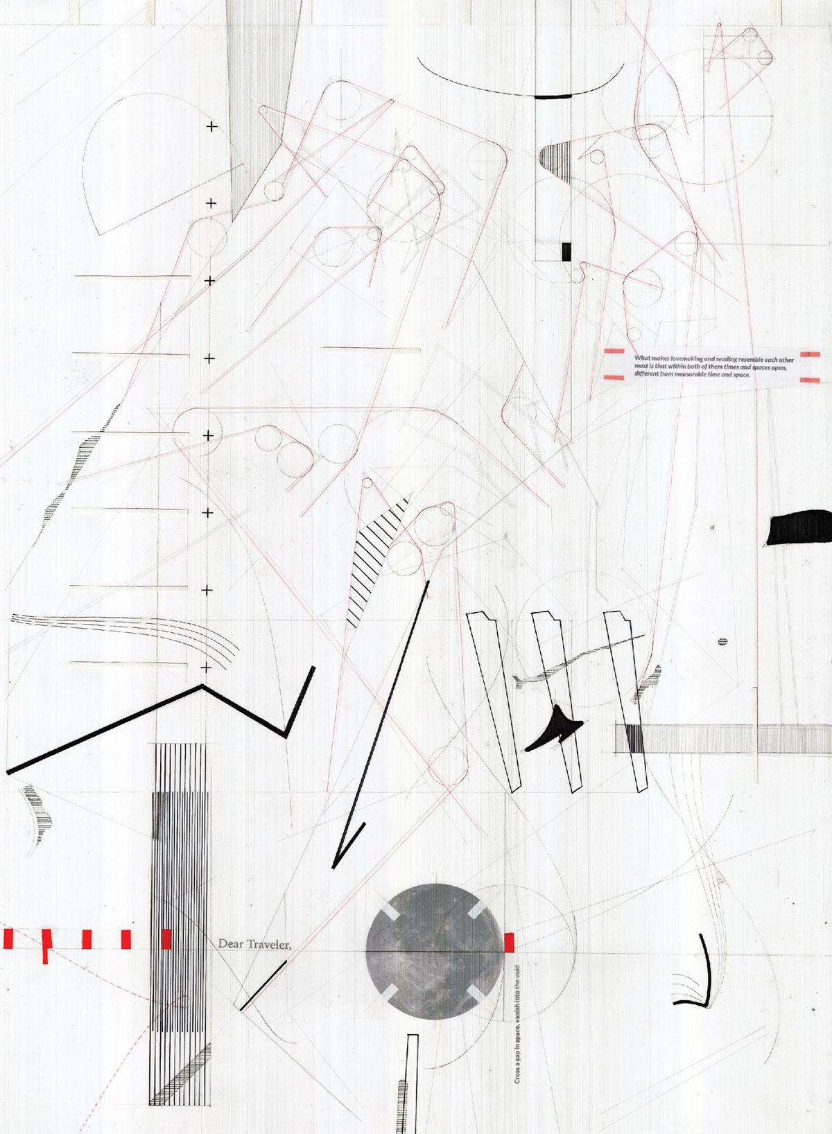 Computing Drawing: Corner Border Toll Plaza on Behance