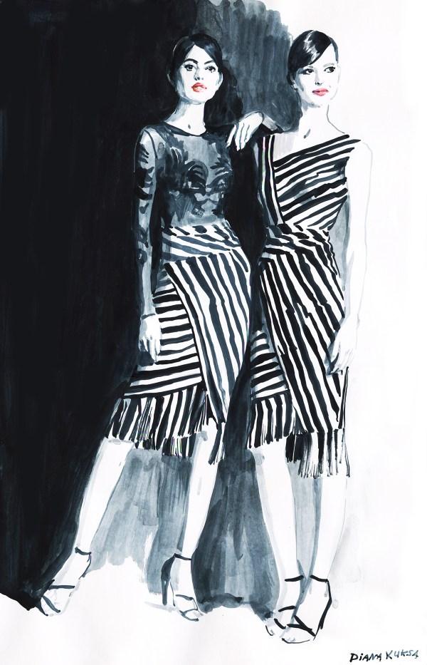 Fashion Illustration Part 10. Behance