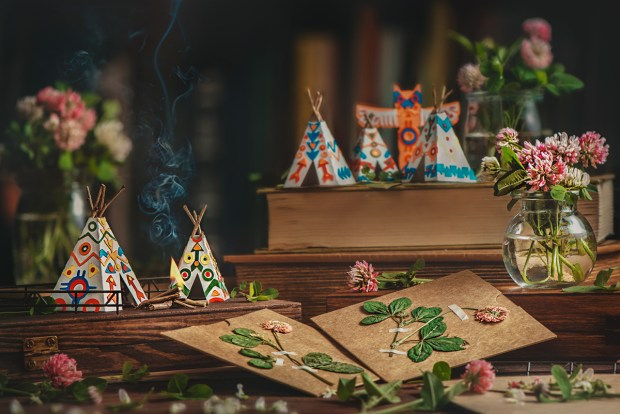 Still Life Photography Dina Belenko Folded Story Clover Tribe Indians Indian Tepee Flowers Cut Flowers Behance Arken Desktop Stories