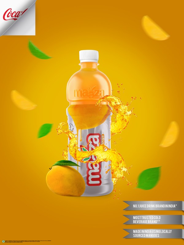 Maaza Drink Print Ad Behance