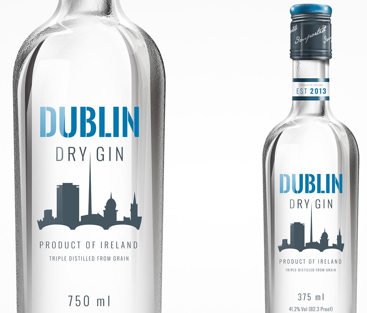 Dublin Dry Gin Concept on Behance