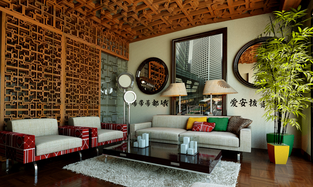 chinese living room small space decorating ideas modern on behance thank you