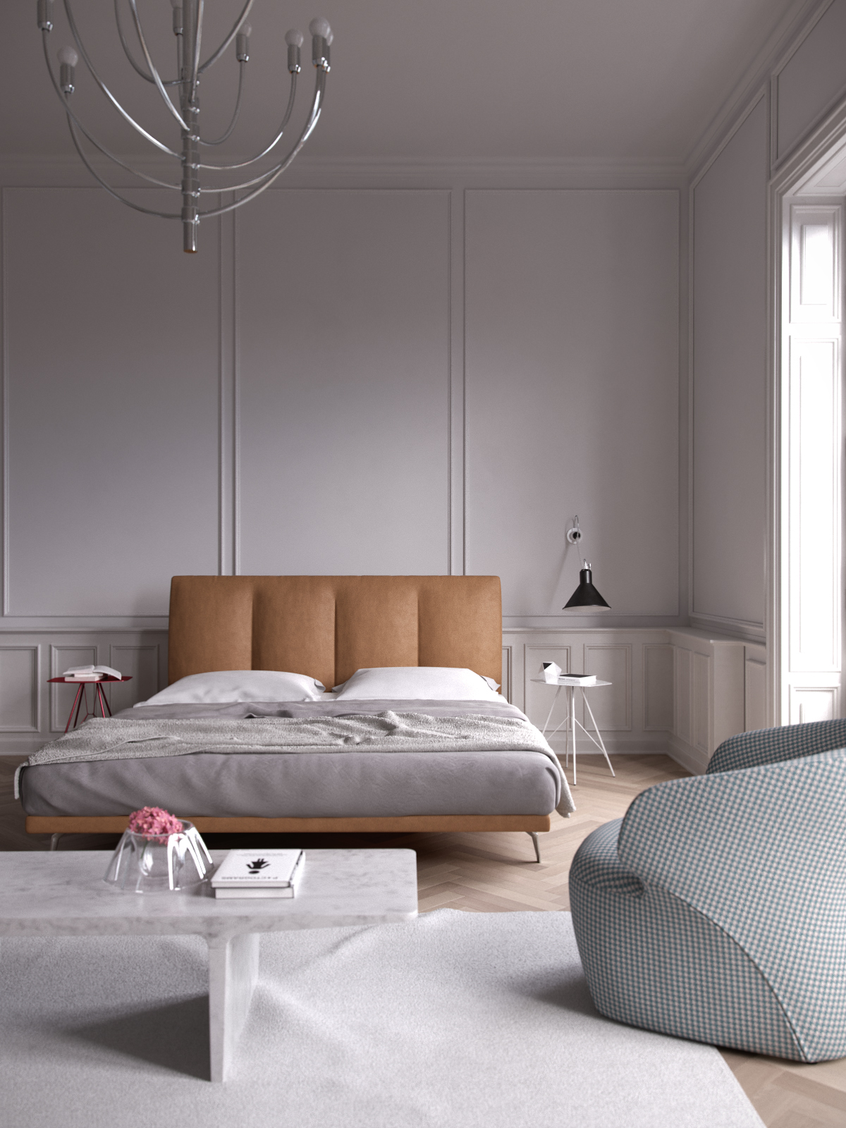 zanotta sofa bed new trend leather sofas french apartment with italian interior on behance