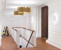 stair hall   design of duplex apartment 2014/15 on Behance