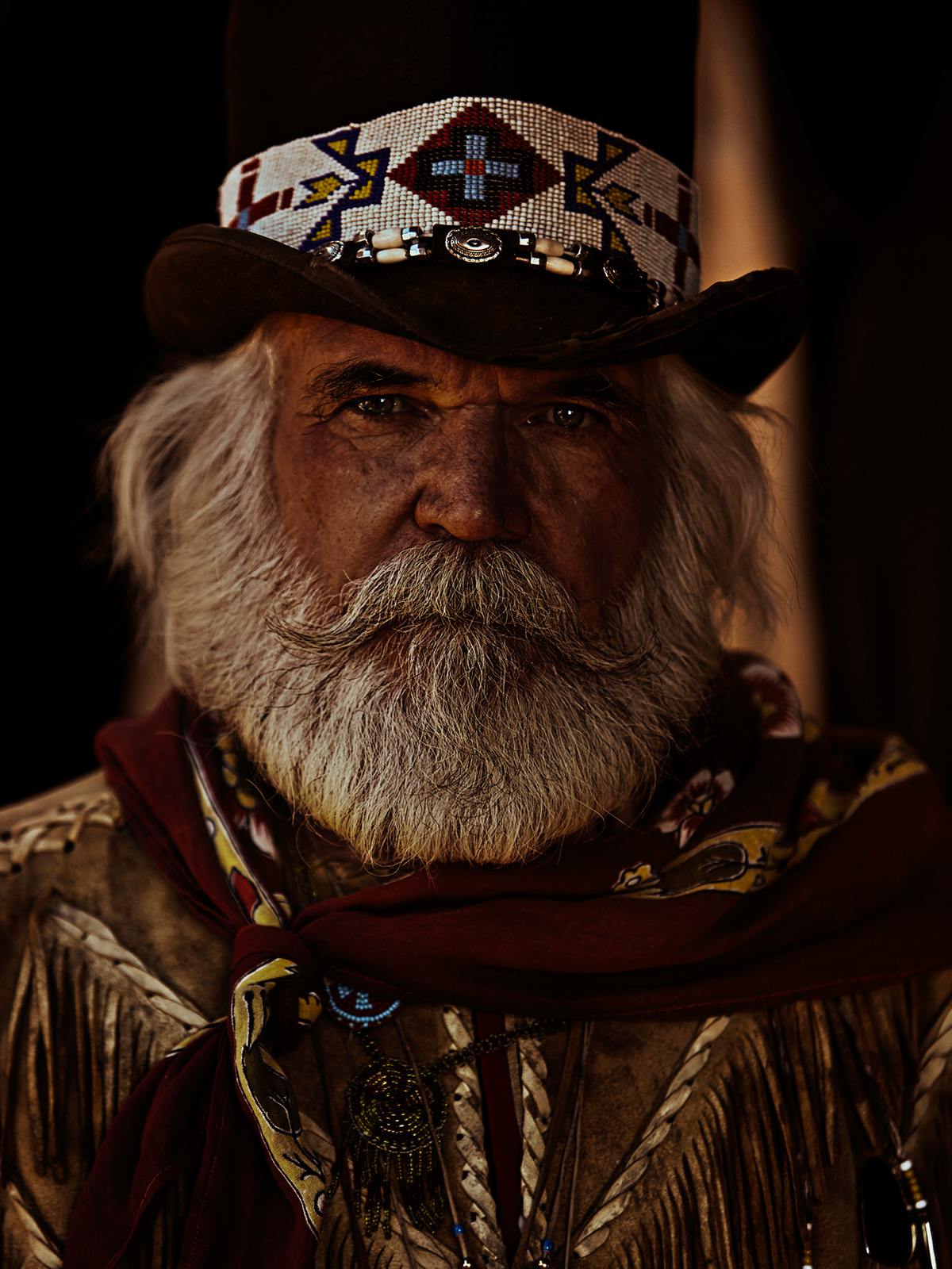 A Portrait Series American Stuntmen Of The Wild West On