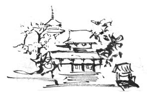 japan behance sketches