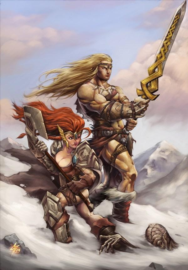 Realm Iron Elf Art Behance