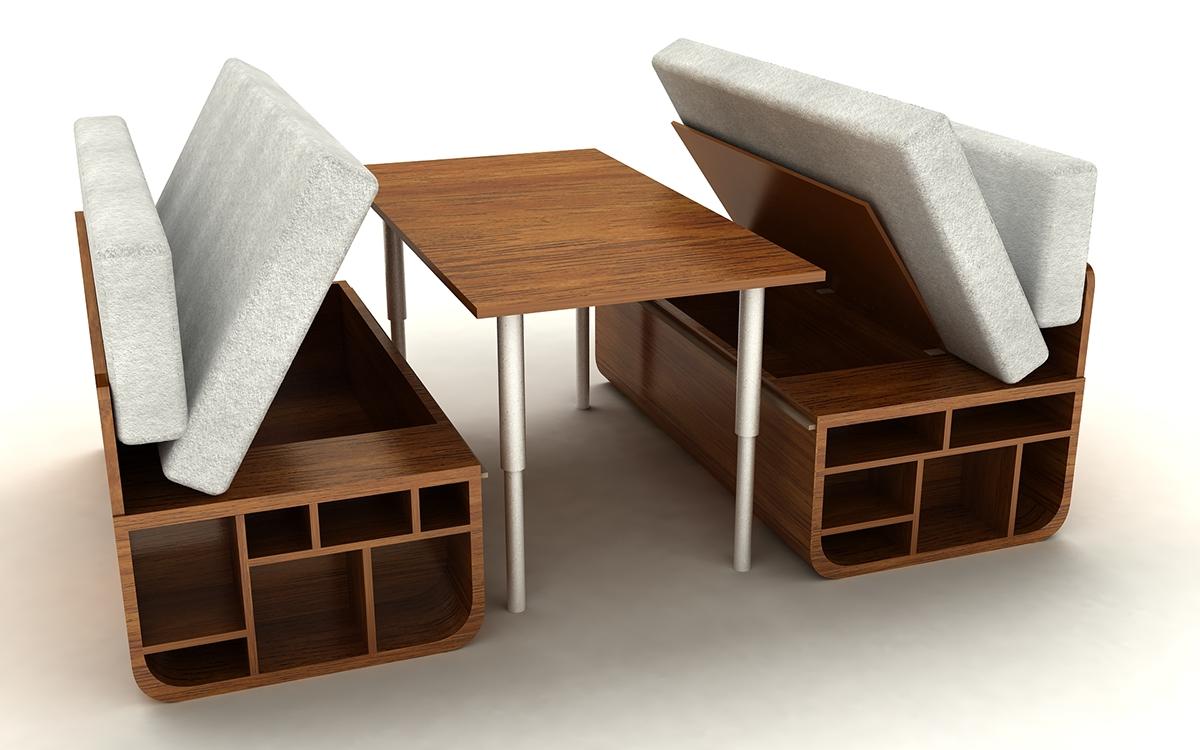 walnut furniture living room cheap combo - multifunctional on behance