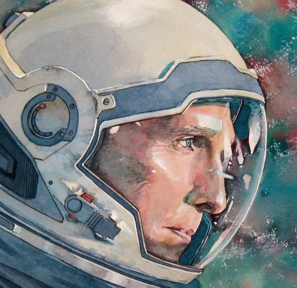 Interstellar Watercolor Illustration Behance