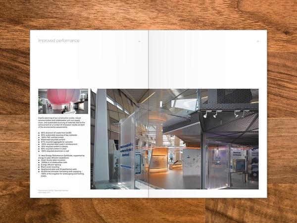 Sustainability Brochure Design Behance