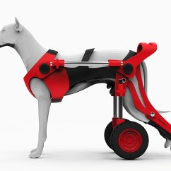 Wheel Chairs For Dogs Maccabee Double Folding Dog Wheelchair On Behance