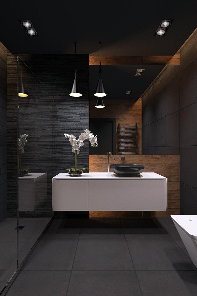 Dark Modern Bathroom Ideas