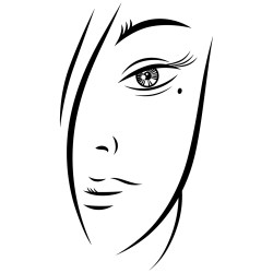 face woman vector sketch ink eps clip young behance graphic ai person feelisgood illustrations contains folder zip
