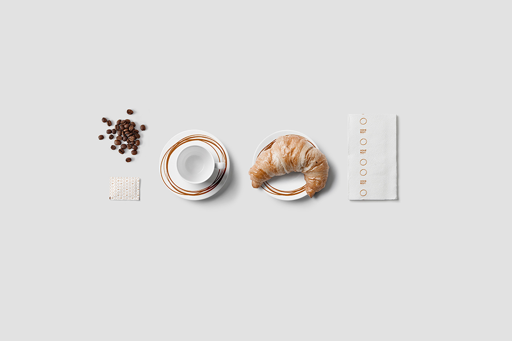 HOME REST / Visual Identity on Behance