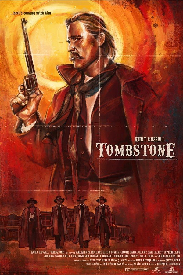 Hell Coming with Me Tombstone Movie
