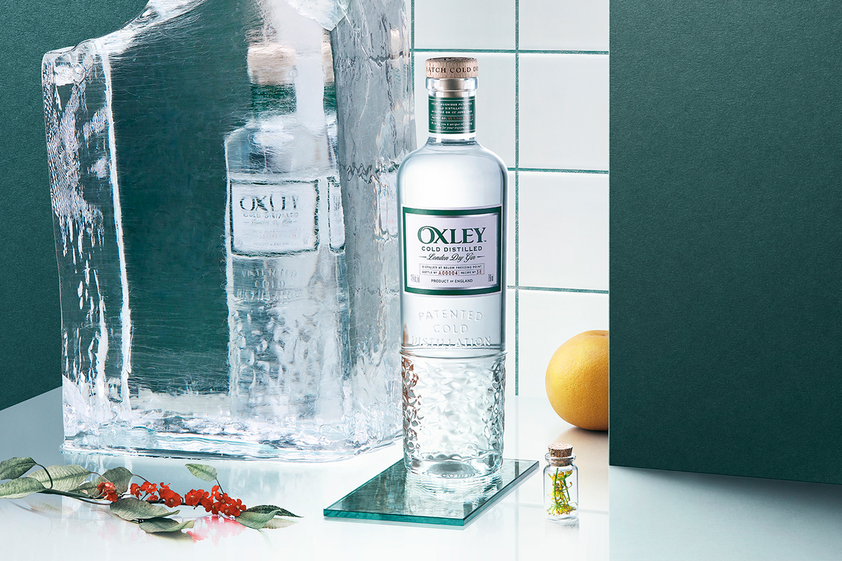 Oxley - London Dry Gin on Behance