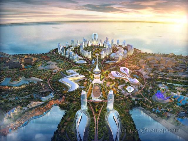 Ocean Flower Island on Behance