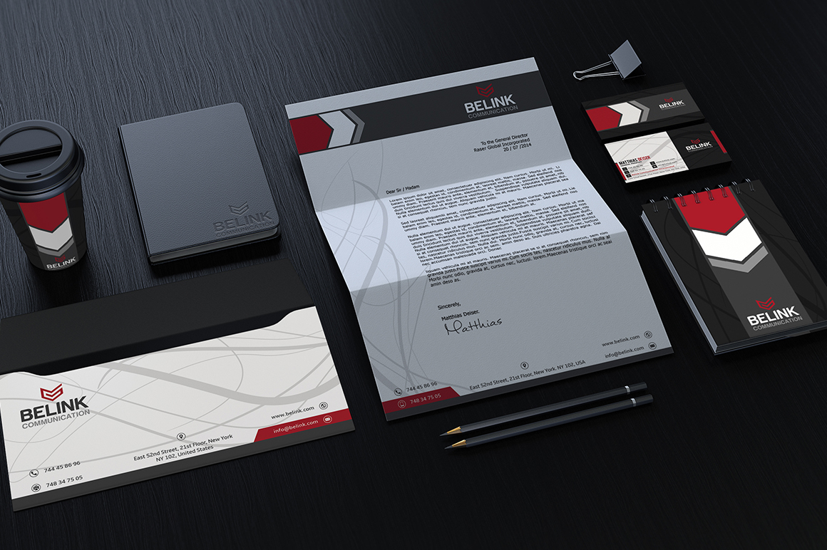 Free Corporate Identity Package Stationery On Behance
