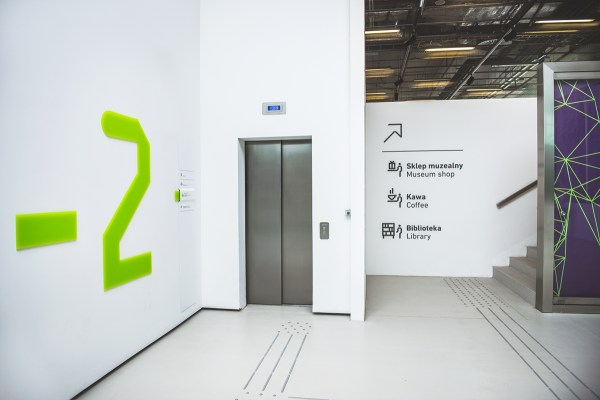 Wayfinding System In Silesian Museum Behance