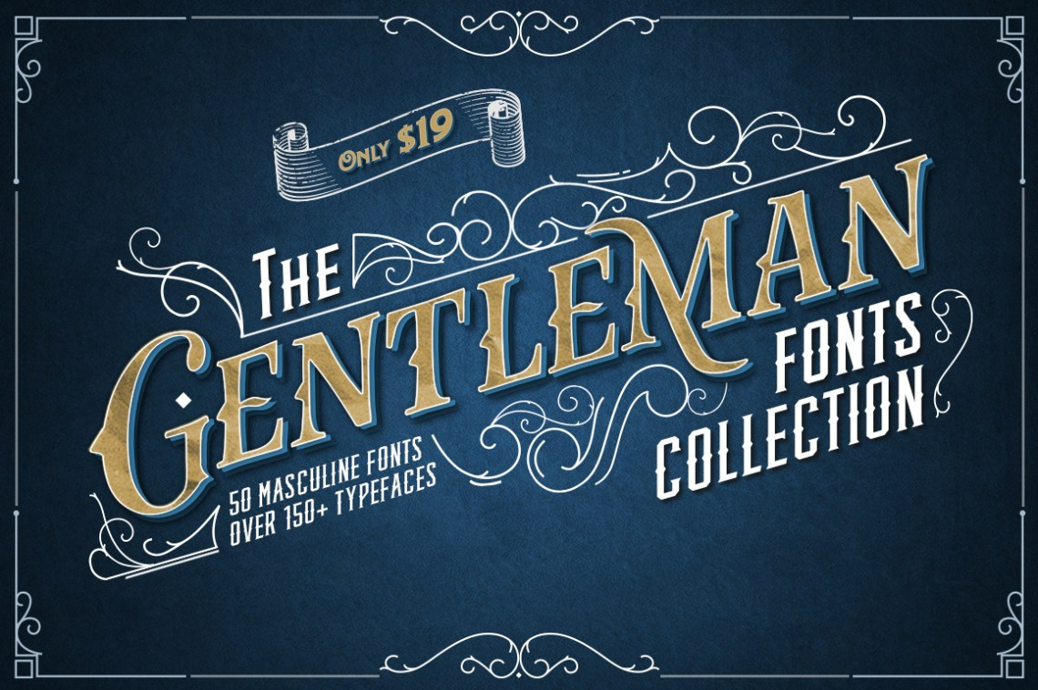 Download The Gentleman Fonts Collection on Behance