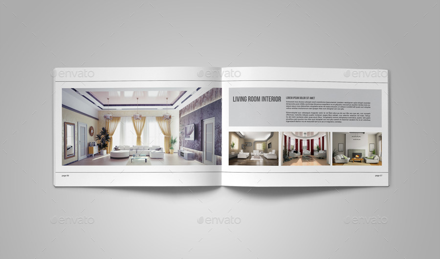 Portfolio Brochure Template On Behance