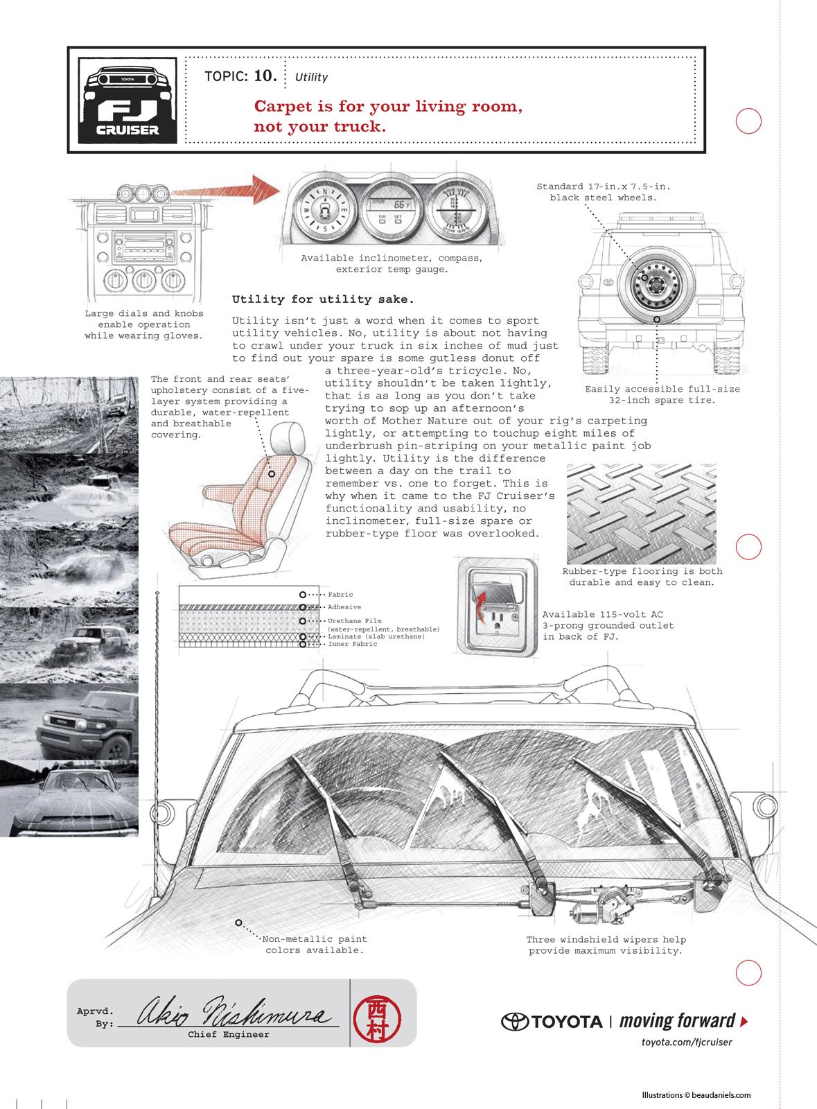 Toyota FJ Cruiser Ads on Behance