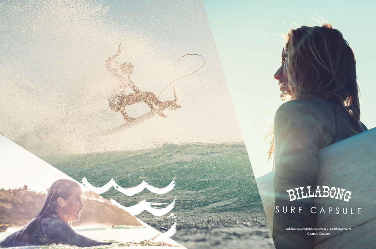 Billabong Magazine Ads On Behance